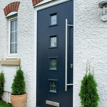 Anthracite grey composite door