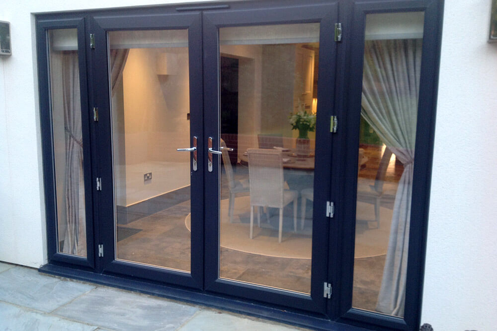 Patio french doors smiths glass for Upvc french doors grey