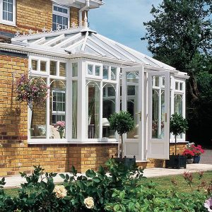 A custom designed, built and installed conservatory by Smith Glass